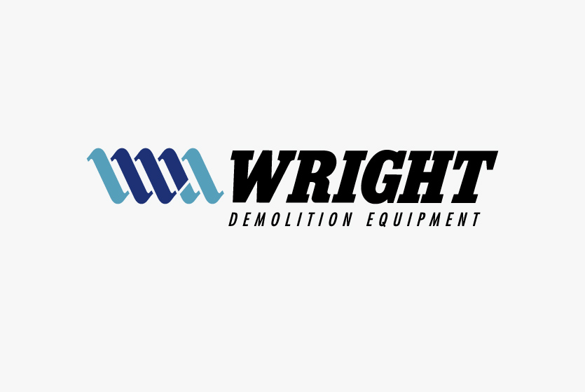 Wright Demolition Equipment Logo