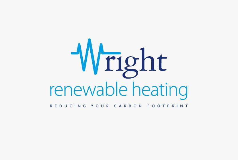Wright Renewable Heating Logo / Wright Group